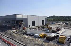 Construction milestone at new Fusion Technology site in Yorkshire